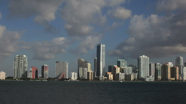 Brickel in Miami  post modern architecture stock videos & royalty-free footage