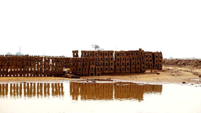 雨のため台無しにレンガ - 煉瓦点の映像素材/bロール