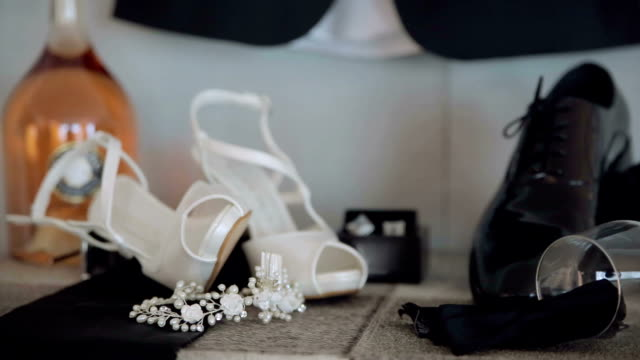 Bride and Groom accessories video