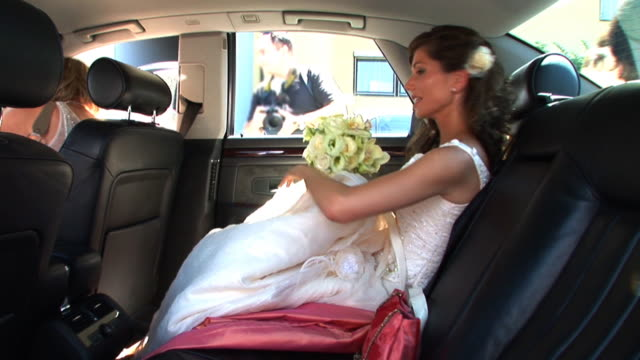 HD: Bride In The Car video