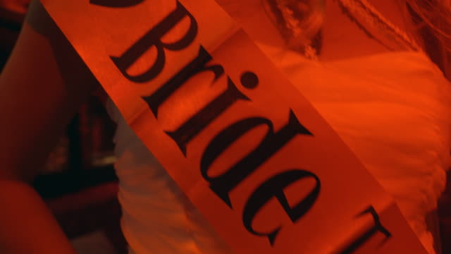 bride to be - bachelorette party stock videos and b-roll footage