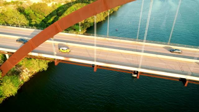 360 Bridge Austin lowering down next to bridge