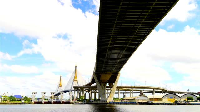 Bridge in Bangkok video