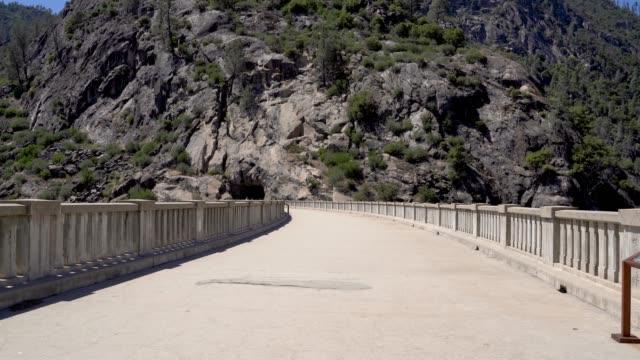 bridge in Hetch Hetchy Reservoir