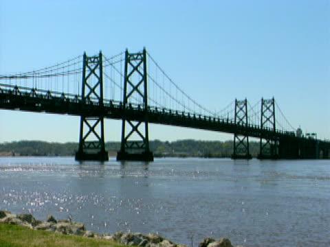 ミシシッピ川橋を 2 - 州間高速道路点の映像素材/bロール