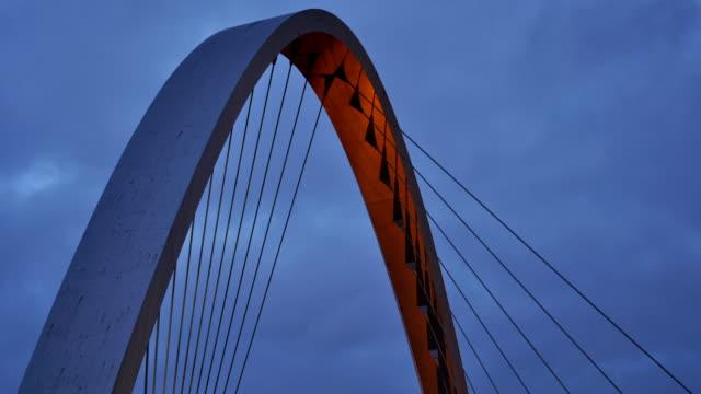 Bridge time lapse dusk to night 1080hd