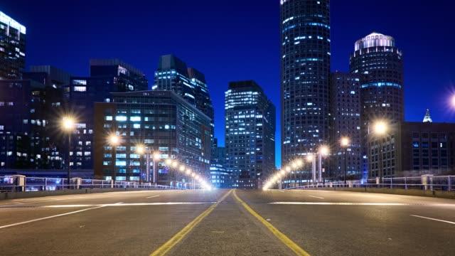 Bridge to financial district video