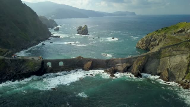 Bridge to Gaztelugatxe San Juan aka DragonStone. North Spain, Basque country