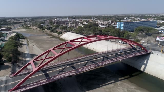 Bridges of Piura city in Peru