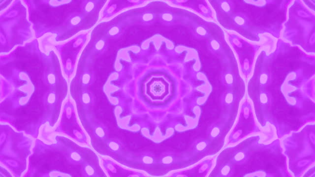 Bright and Colourful Kaleidoscope Effect video