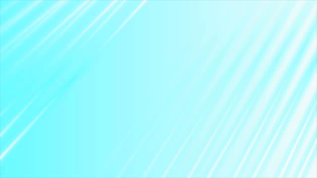 明るい青と灰色の縞模様の滑らかな抽象運動の設計 - 灰色点の映像素材/bロール