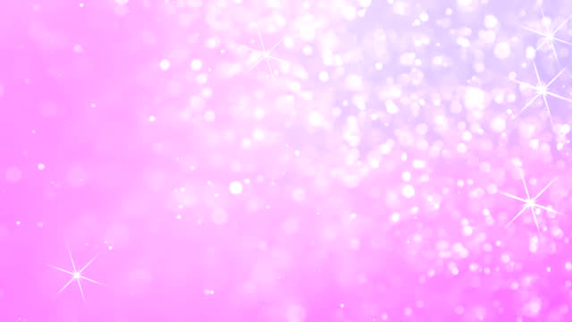Bright Christmas Morning Floating Sparkling particles similar to frost randomly move on a colored, romantic background creating a sense of celebration pink color stock videos & royalty-free footage