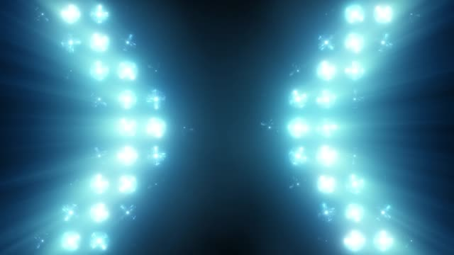 Bright Floodlight Flash on the wall VJ Stage Bright Floodlight Flash on the wall VJ Stage 4K Seamless loop animation. Blinder Blinking lights Flash club Flashlights Disco lights Matrix Incandescent light Lamp Halogen headlamp lamp Night club off eyesight stock videos & royalty-free footage
