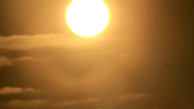 明亮的日落星 - 亞洲中部 個影片檔及 b 捲影像