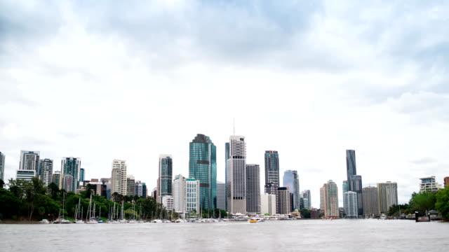 TIME LAPSE: Brisbane business district video