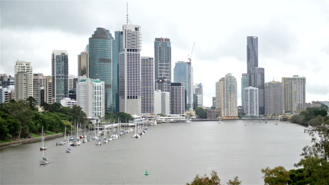 Brisbane Central Business District video