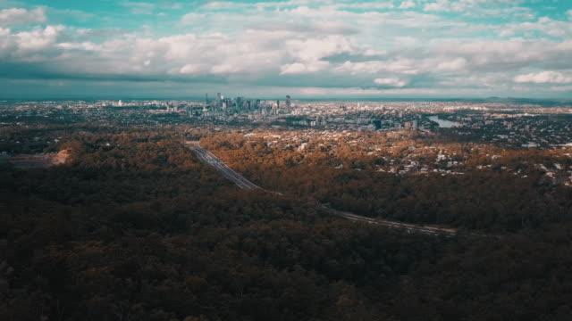 Brisbane City and Skyline 4K video