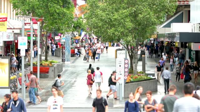 Brisbane city center Albert Street video