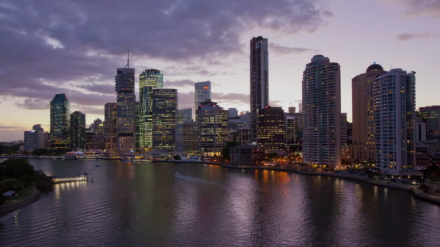 Brisbane Cityscape from Story Bridge Hyperlapse video