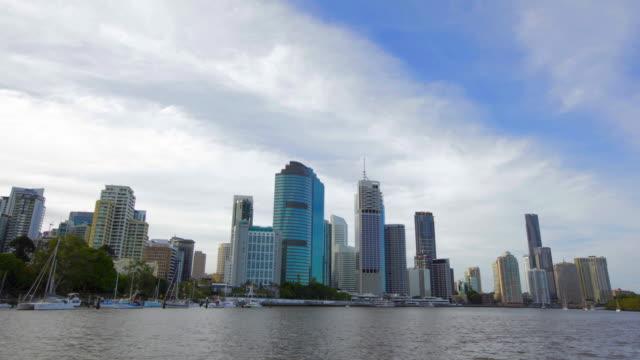 Brisbane Cityscape Motion Timelapse video
