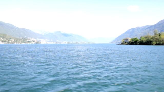 vídeos de stock e filmes b-roll de brissago inseln - lago maggiore