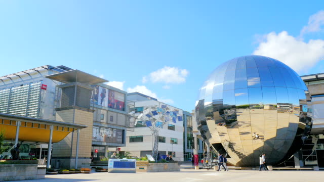 bristol planetarium millenium square uk video