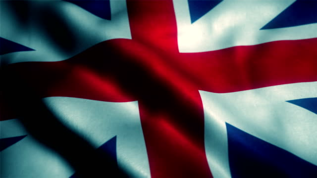 British Flag, Uk Flag, United Kingdom Flag video