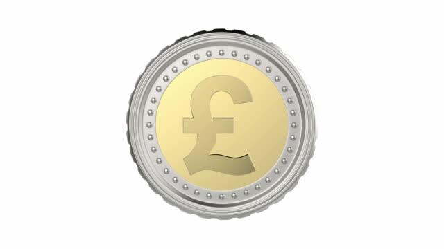 British pound coin video