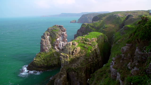 Brittany coast video