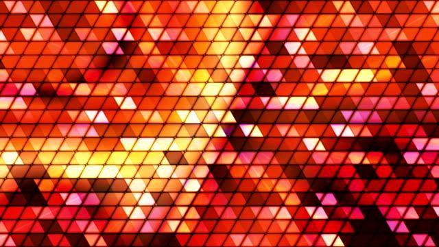Broadcast Twinkling Cubic Hi-Tech Triangles 10 video