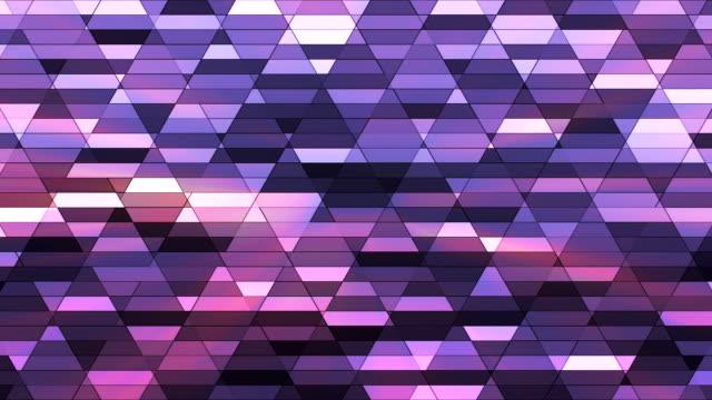 vídeos de stock e filmes b-roll de difusão twinkling diamante hi-tech pequenas barras 17 - mosaicos flores