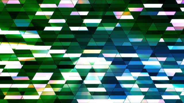 vídeos de stock e filmes b-roll de difusão twinkling diamante hi-tech pequenas barras 19 - mosaicos flores
