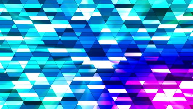 vídeos de stock e filmes b-roll de difusão twinkling diamante hi-tech pequenas barras 22 - mosaicos flores