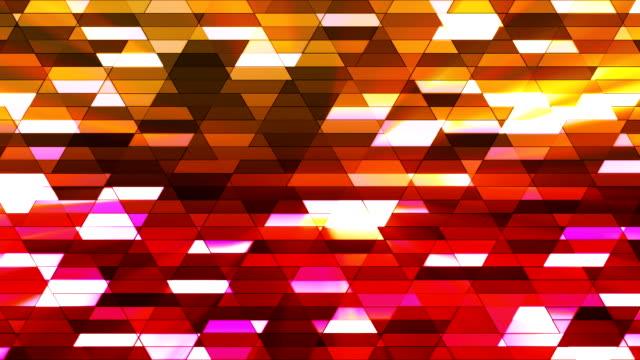 vídeos de stock e filmes b-roll de difusão twinkling diamante hi-tech pequenas barras 23 - mosaicos flores