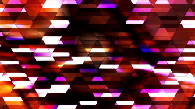 vídeos de stock e filmes b-roll de difusão twinkling diamante hi-tech pequenas barras 26 - mosaicos flores