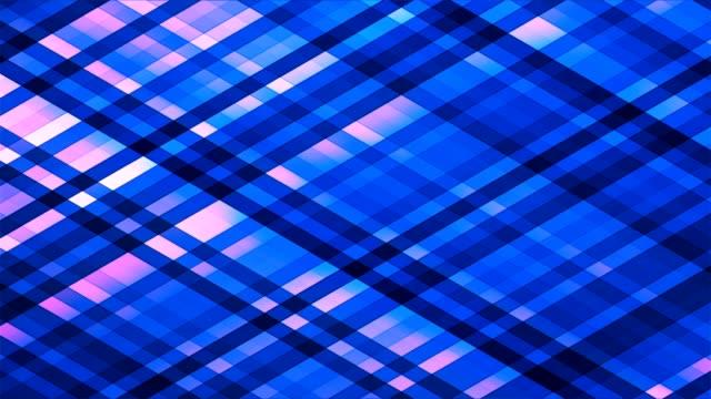 Broadcast Twinkling Diamond Hi-Tech Strips, Blue, Abstract video