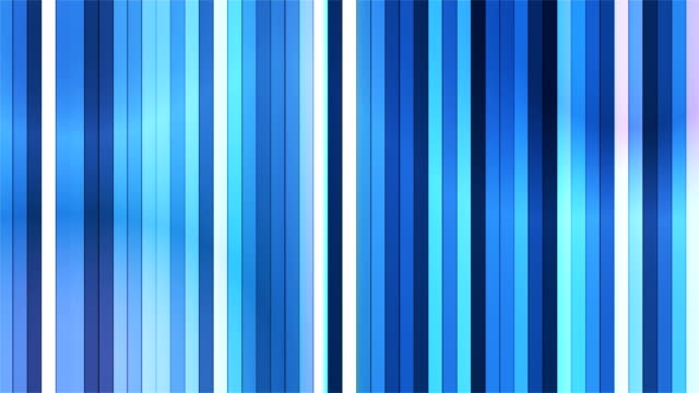 Broadcast Twinkling Vertical Hi-Tech Bars, Blue, Abstract video