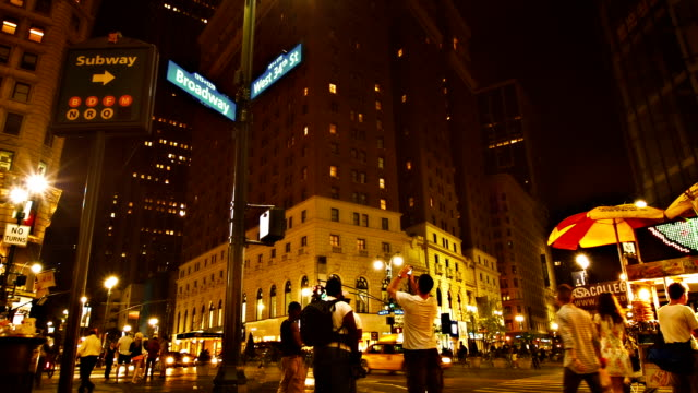 Broadway avenue in New York video