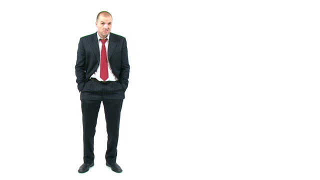 Broke businessman video