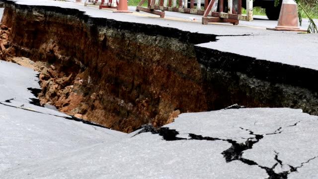 vidéos et rushes de broken asphalte - spéléologie