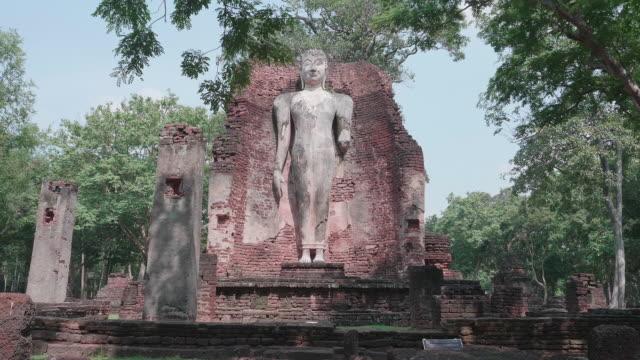 Broken church in Kamphaeng Phet Historical Park,Thailand