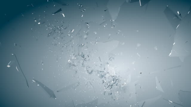 broken glass video