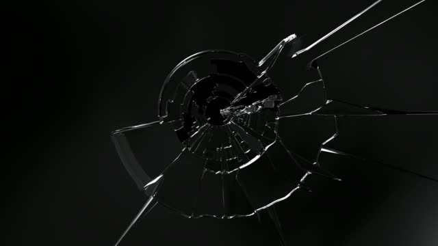 HD: Broken glass High quality animations of broken glass. breaking stock videos & royalty-free footage