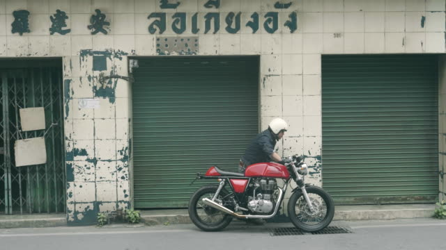 Broken motorbike video