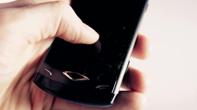 Broken phone screen video