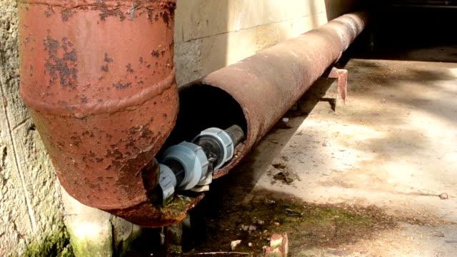 Broken Rusty Water Pipe video