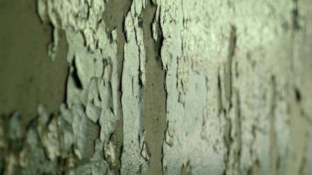 broken wall in the abandoned factory. smooth and slow dolly shot. - vintage architecture stock videos & royalty-free footage