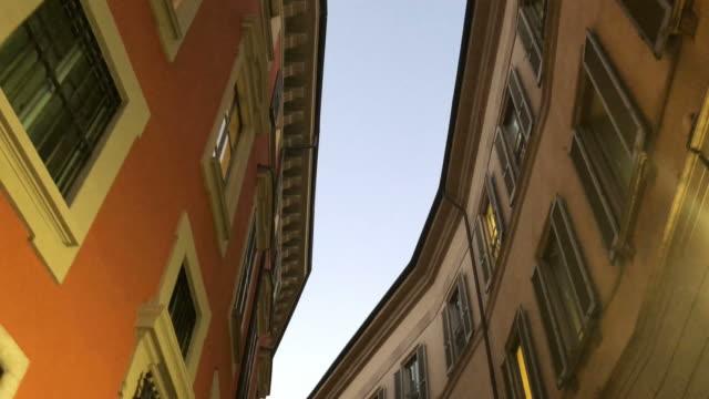 B-roll shots of Milan Streets