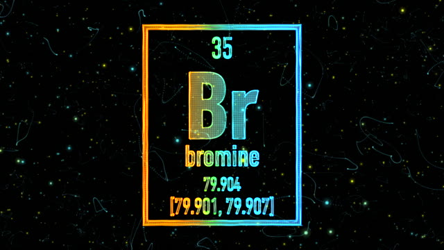 Bromine symbol as in the Periodic Table