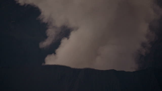 Bromo Volcano Eruption at Sunrise, Indonesia video